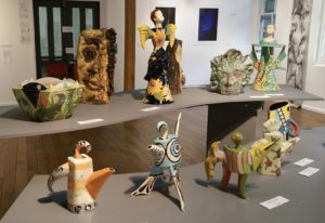 Teapots, vessels and figurines on show at IMAGES OF TASMANIA 20.